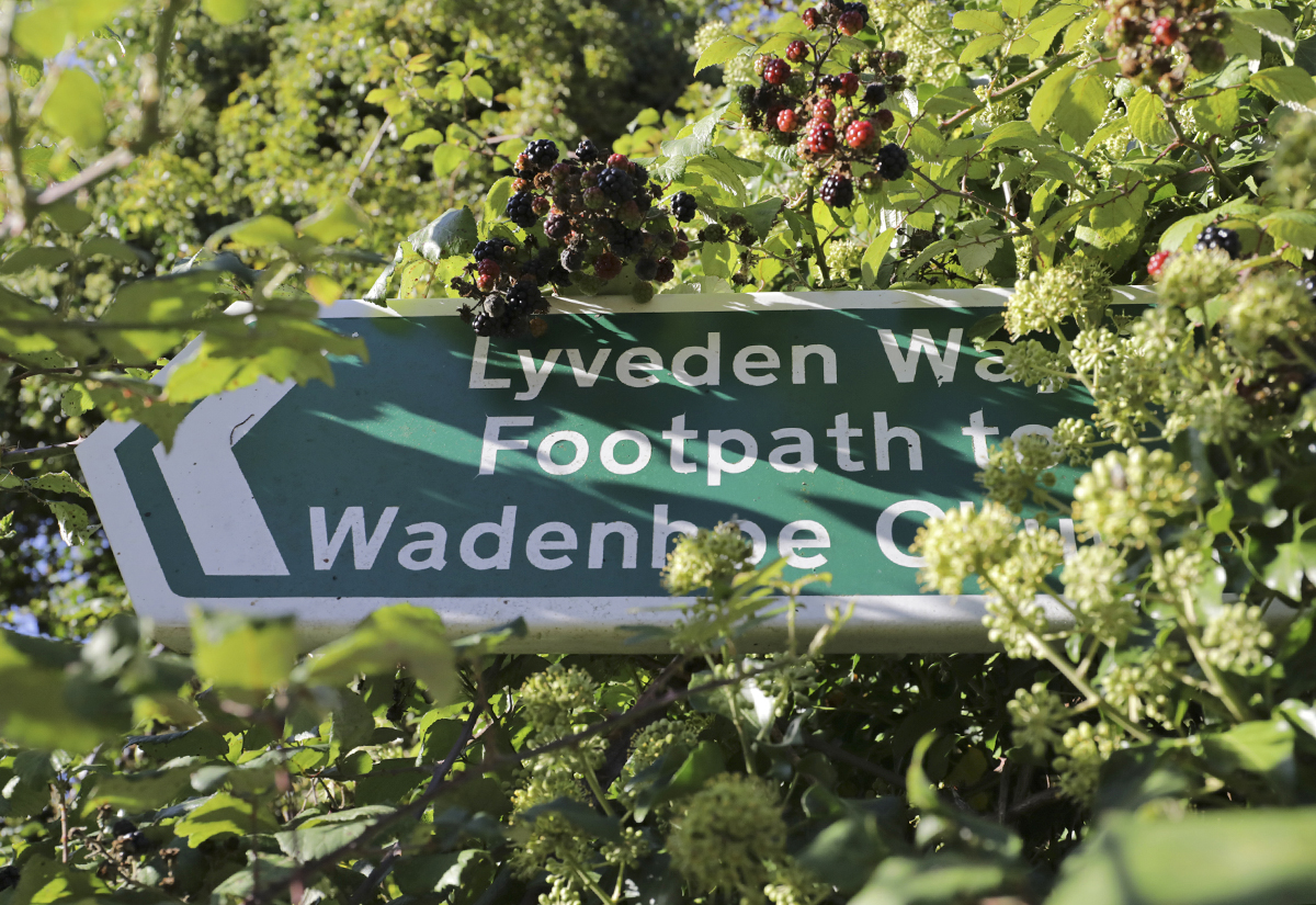 To the Lyveden Way